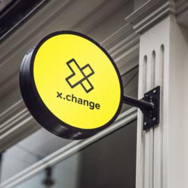 x change logo portfolio